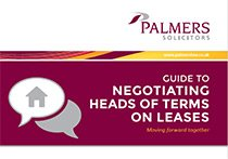 Guide to Negotiating Heads of Terms on Leases