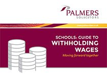 Schools: Guide to withholding wages