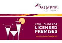 Legal Guide for Licensed Premises