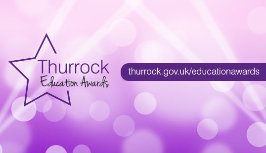 Supporting the Thurrock Education Awards