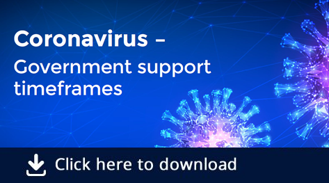 Download our Coronavirus support for business timeline