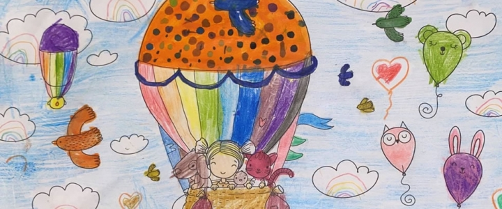 We head to the seaside with our August colouring competition
