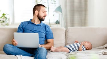 Two-thirds of new fathers not taking entitled paternity leave